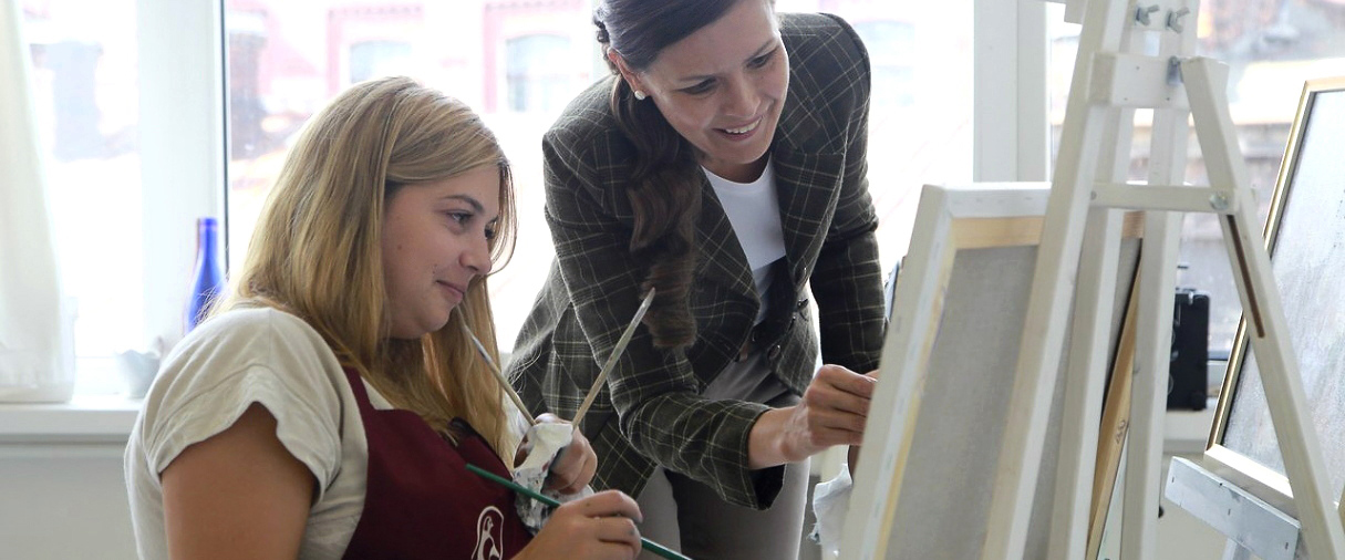 Обучение живописи у Елены Бартеневой