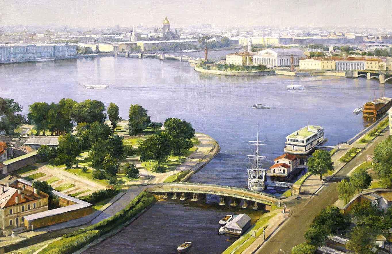 Картина Санкт-Петербург