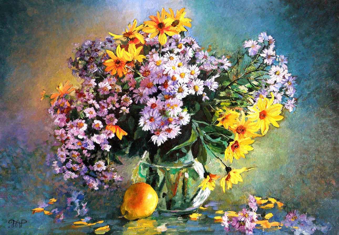 Картина Полевые цветы