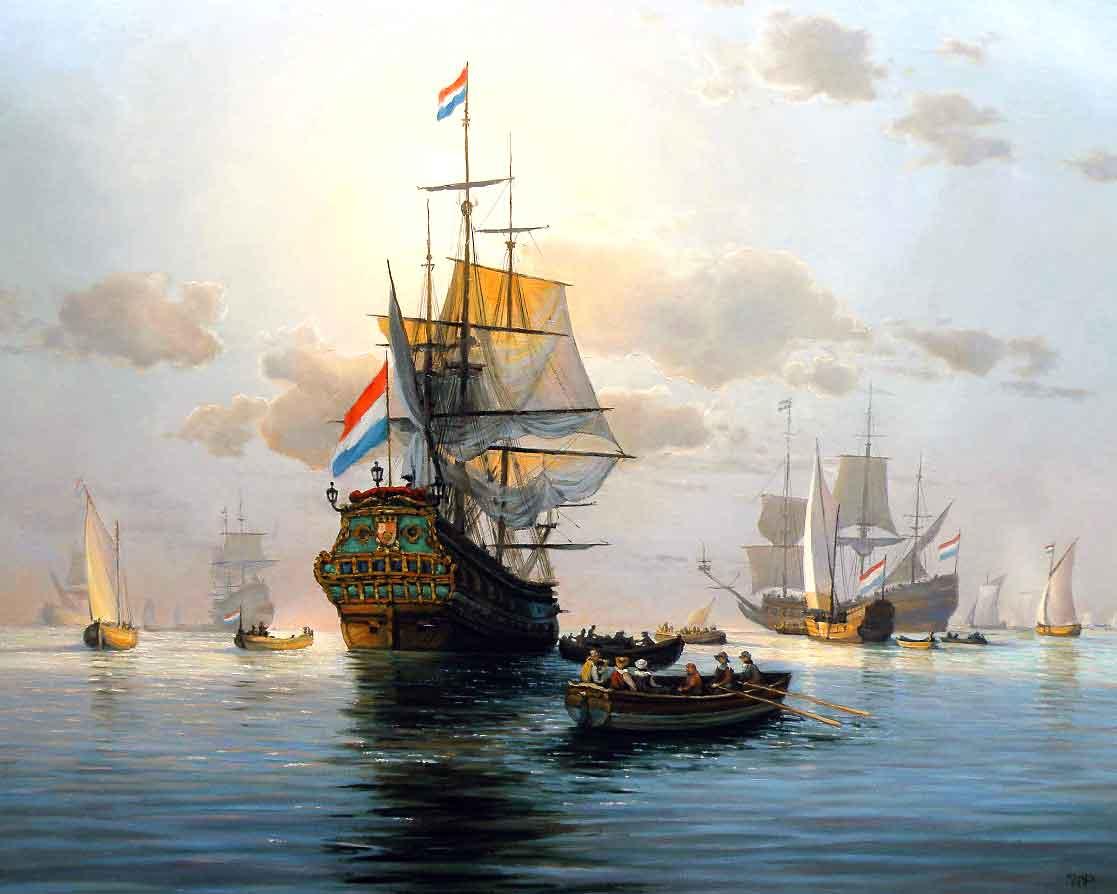 Картина Море, корабль