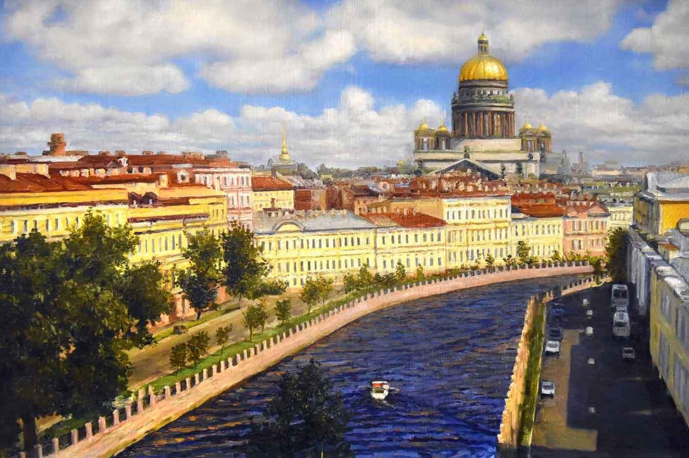 Картина пейзаж СПб