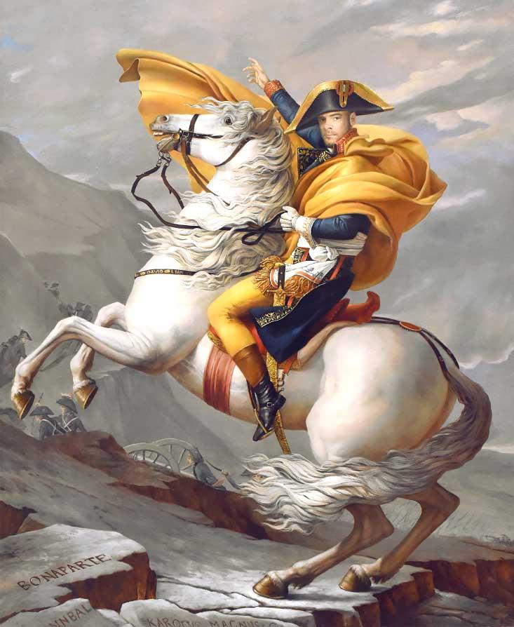 Портрет на коне